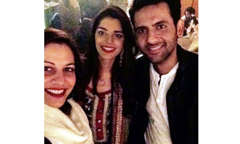 Friends from the fraternity attended the wedding festivities including Cybil Choudhry and Mohib Mirza.