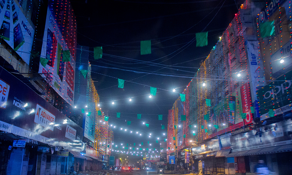 Lighting at Saddar, Karachi. — Muhammad Umar