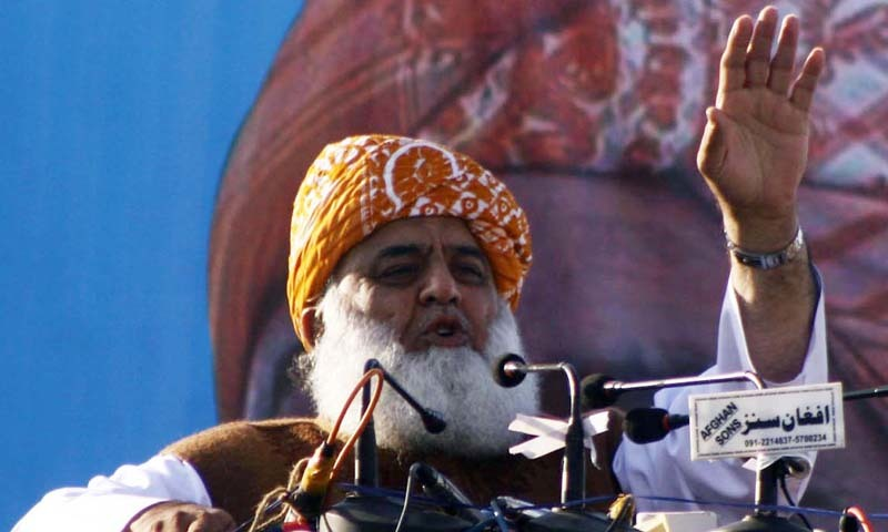 JUI-F chief Maulana Fazlur Rehman claims the legislation is biased and could be used to target religious institutions.—INP Photo