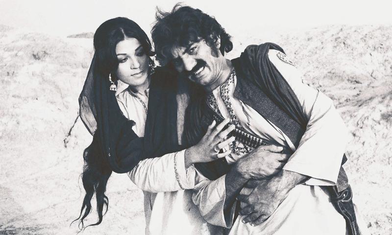 عابد علی اور حمیرا چوہدری پی ٹی وی ڈرامے جھوک سیال میں جس کی ہدایات یاور حیات نے دیں