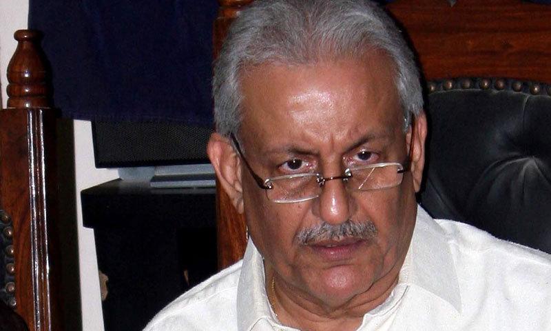 Senator Raza Rabbani. —APP/File