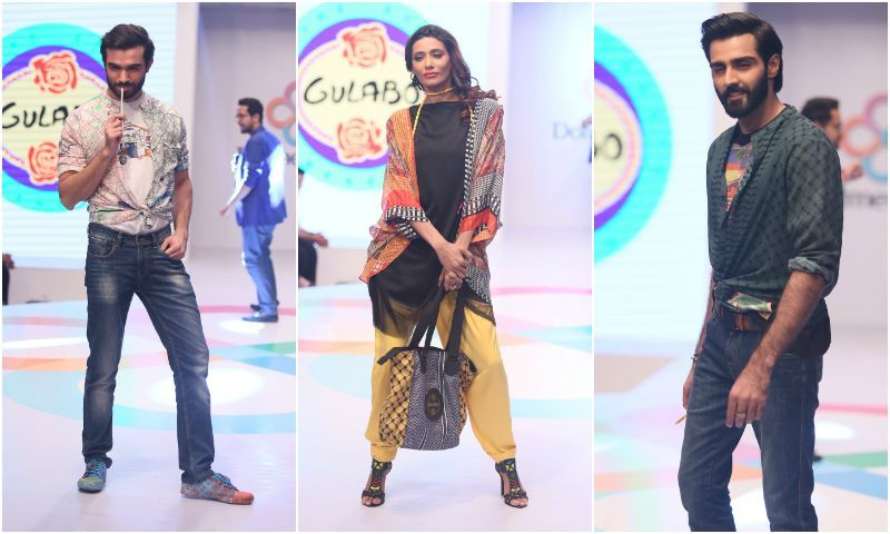 6f5fdb361a There was nothing pedestrian about the show, which featured a performance  by Ali Gul Pir and showcased Gulabo's new Spring/Summer collection.