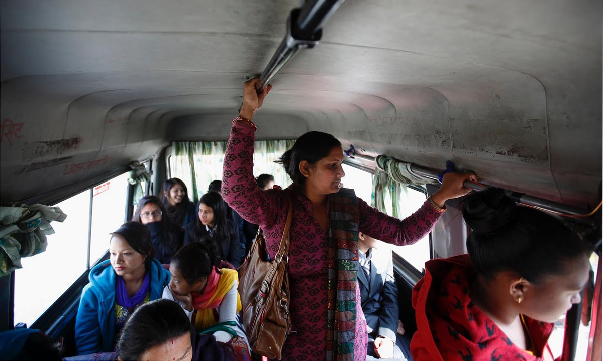 fighting sexual harrassment: nepal's women-only buses - world