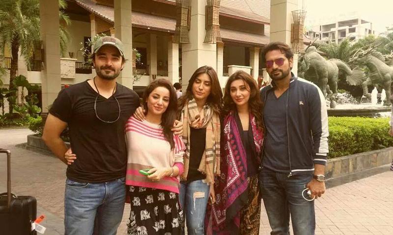 The cast of 'Jawani Phir Nahi Aani'. - Photo courtesy: Facebook