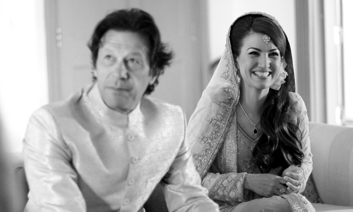 The newly married couple..— Photo by Belal Khan