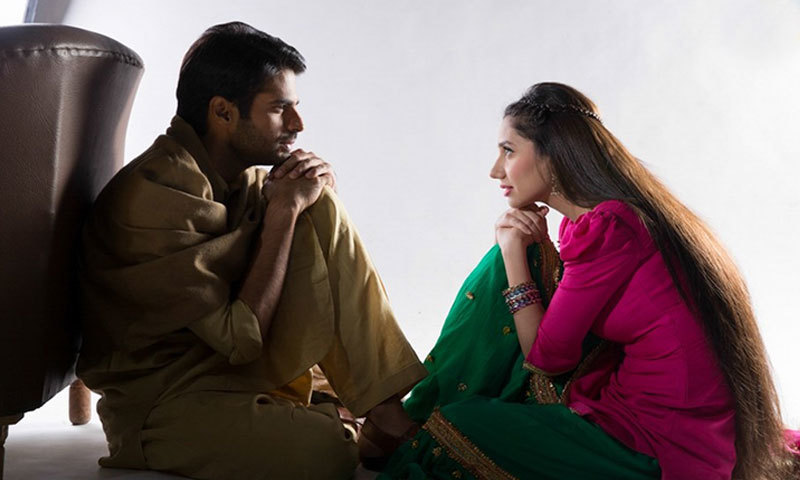 Adnan Malik and Mahira Khan in 'Sadqay Tumhare'. — Photo Courtesy: HUM Network Ltd