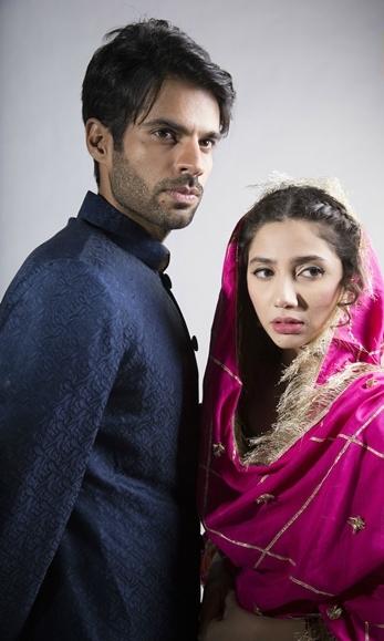 Adnan Malik and Mahira Khan in 'Sadqay Tumhare'. —Photo Courtesy: hum.tv