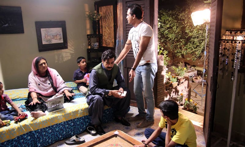 The filming of Aashiq Hussain. - Courtesy photo.