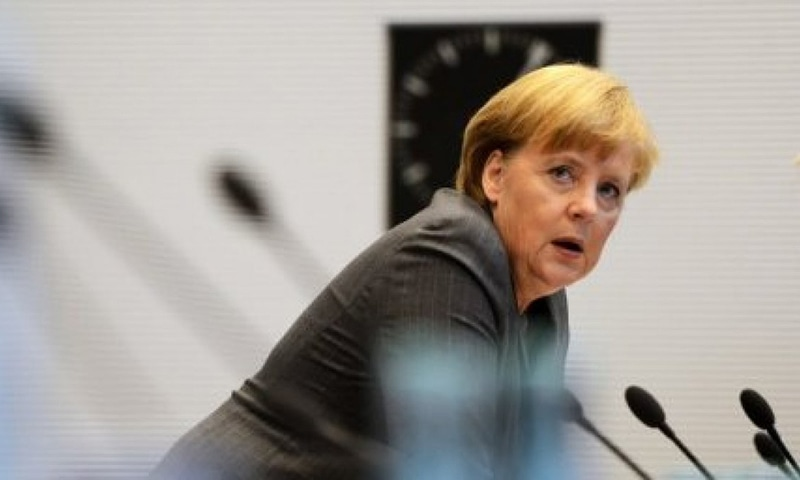 This picture shows German Chancellor Angela Merkel. — AFP/File