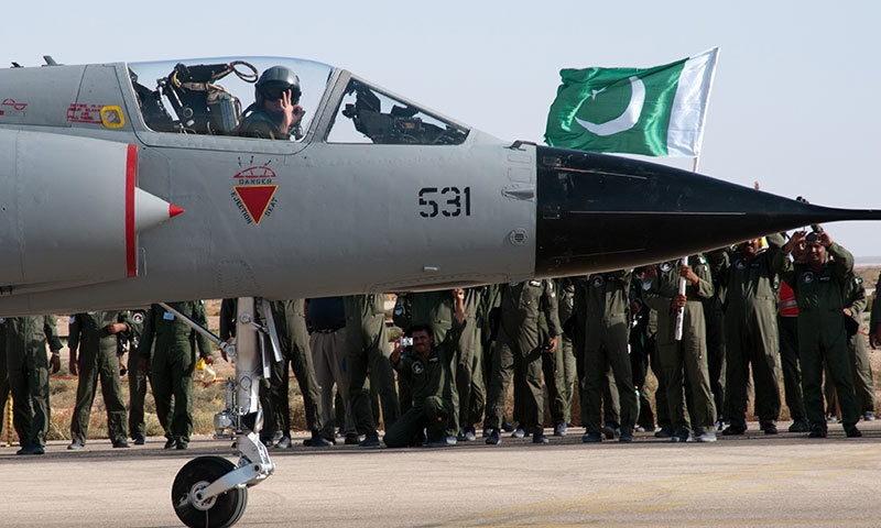 From the children of Pakistan: A message delivered by a fighter pilot