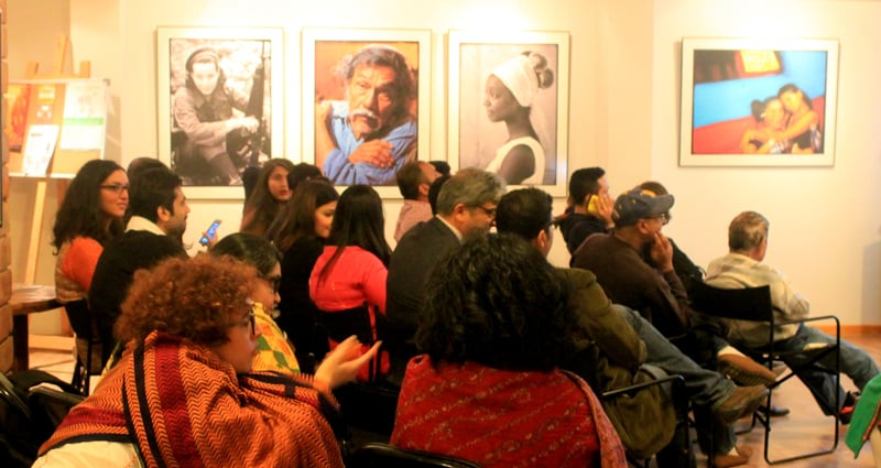 The audience at the viewing of Anima State at T2F. - Photo by author.