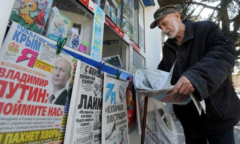 Russia's media watchdog warned publications from publishing caricatures that can be seen as a violation of the country's laws. -AFP/File