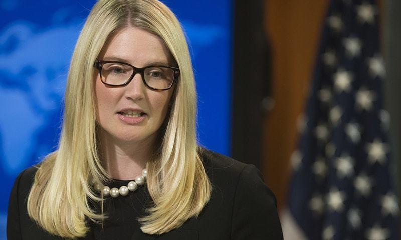 State Department Deputy Spokesperson Marie Harf .—AFP/File