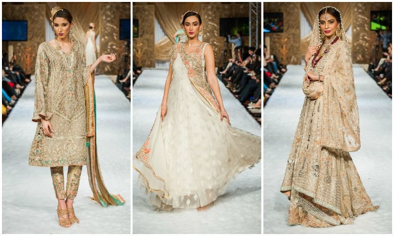 Goal by Fauzia Hammad also recently showed at Bridal Couture Week in Lahore.
