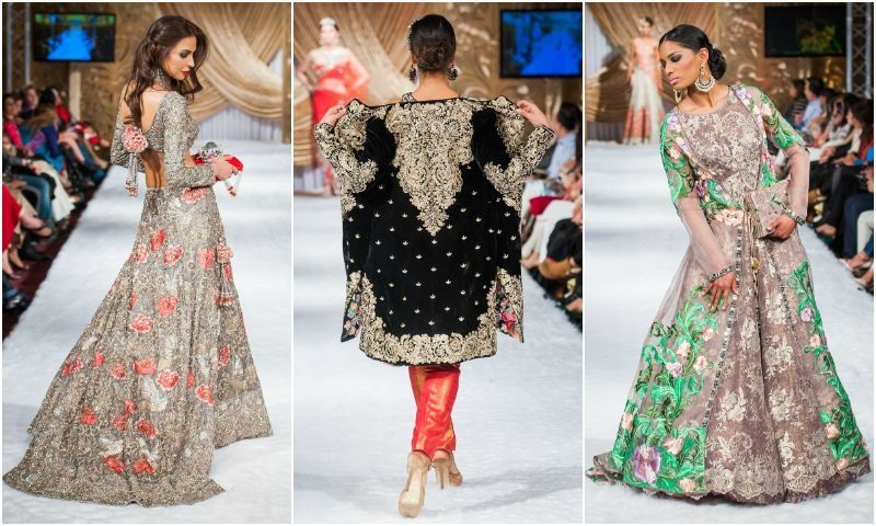 Honey Waqar's experience was evident in her collection.