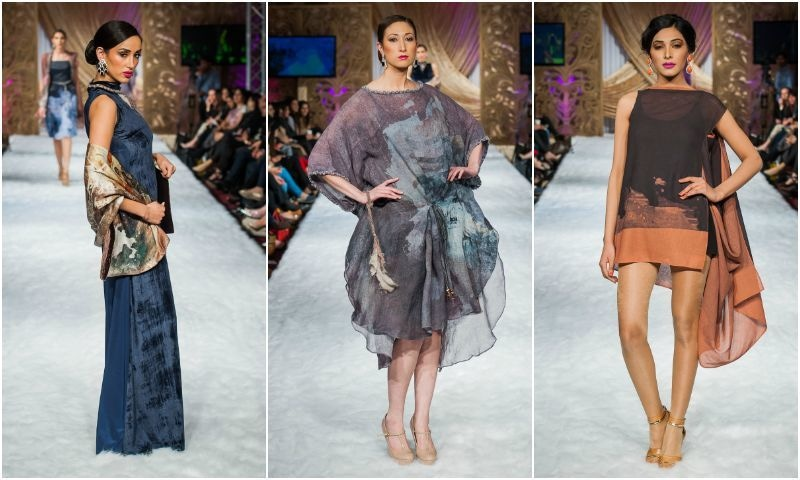Sonya Battla showcased her simple, high fashion Western collection staying true to her brand.