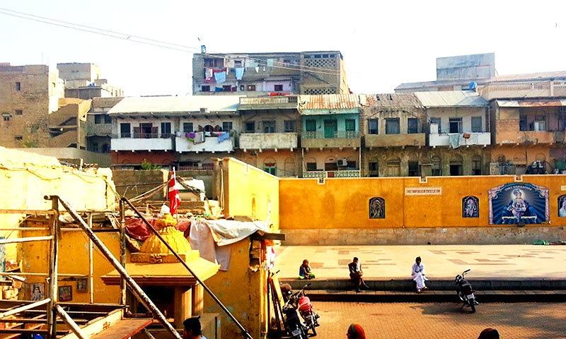 Shree Swaminarayan Temple and surrounding areas