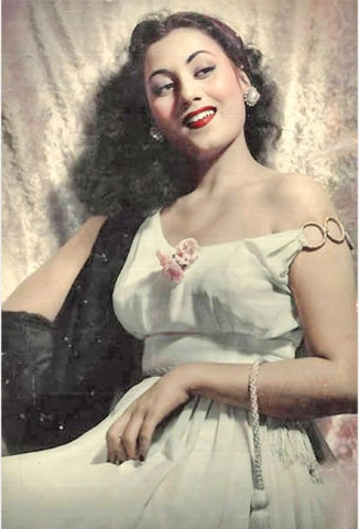 Madhubala.—Photo provided by the writer