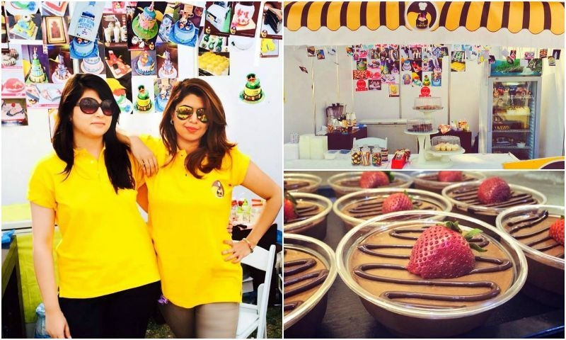 Aamina in front of her stall at Karachi Eat 2014. Find The Cakery this year at Stall No. 43. - Photo courtesy: Aamina Jehangir