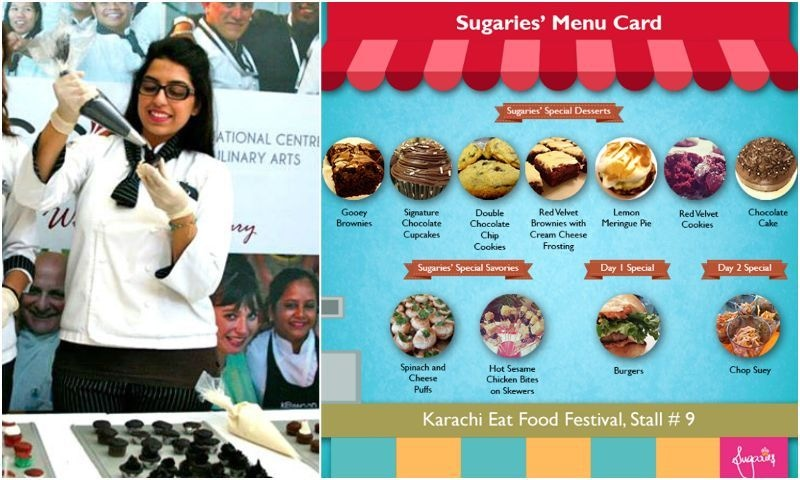 Find Mahwish Aziz baking up a storm at Stall No. 9. - Photo courtesy: Mahwish Aziz