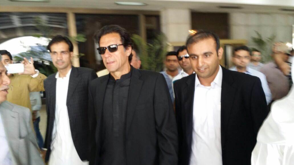 Imran Khan arrives in Jeddah - HnL Productions