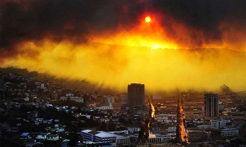 موسمیاتی تبدیلیاں دنیا کو 'قیامت' کے قریب لارہی ہے: سائنسدان
