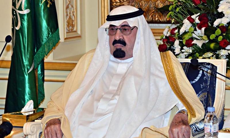 Late Saudi King Shah Abdullah. — AFP/File