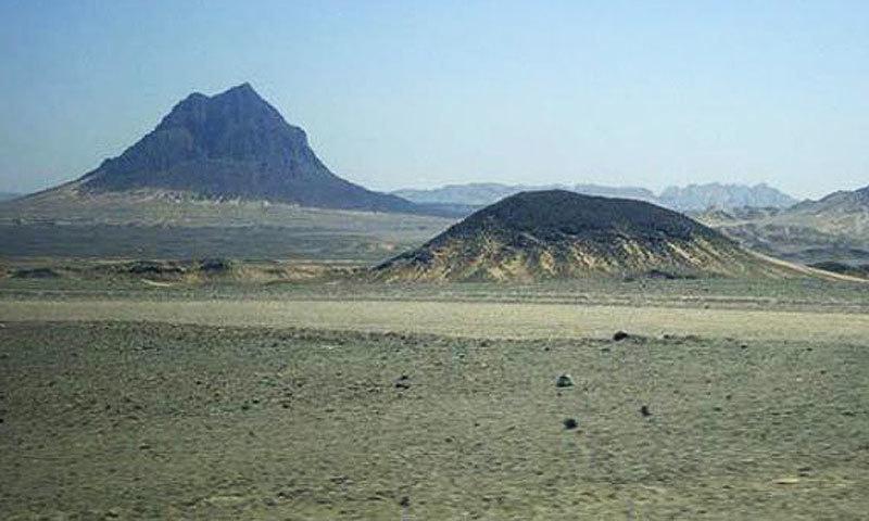 Reko Diq hills.—Reuters/File
