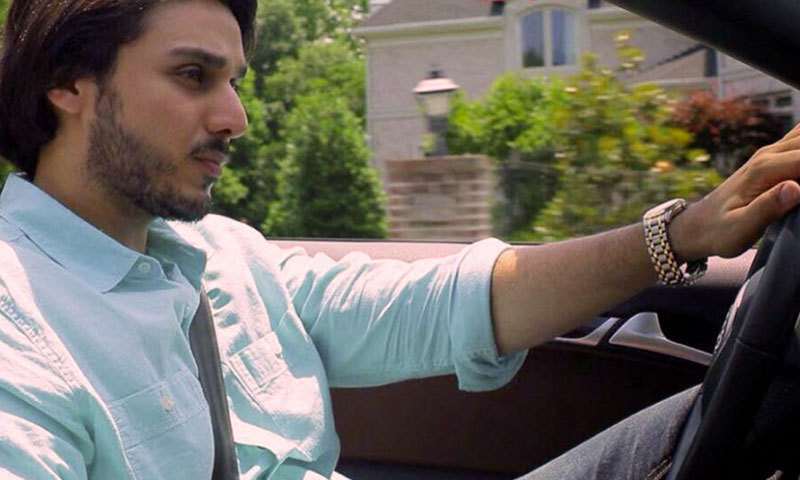 Ahsan Khan as Omar in drama 'Zid'.—Photo Courtesy: dramaindustry.pk