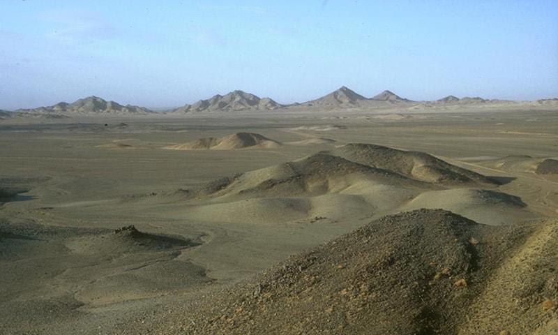 ماہرینِ ارضیات کے مطابق اس علاقے میں موجود معدنیات کی قدر و قیمت ایک سے 3 کھرب ڈالر کے درمیان ہے — فوٹو tethyan.com