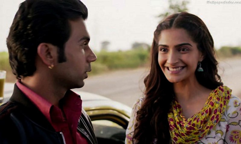 Sonam Kapoor and Rajkumar Rao in a still from the film.— Publicity Photo