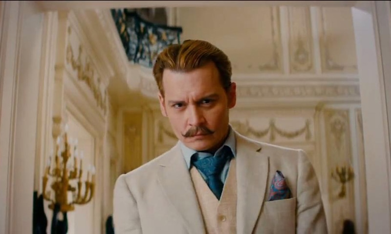 Depp sports interesting facial hair in the movie. - Photo courtesy: thewrap.com