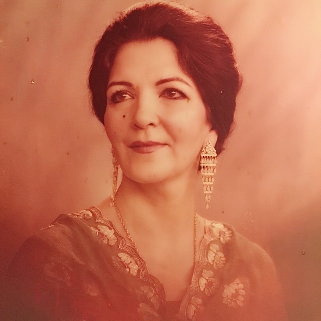 Begum Kulsoom Saifullah Khan - @zahraasaifullah/Instagram