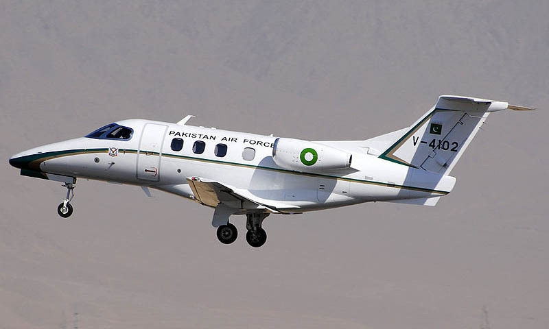 PAF plane makes refuelling landing in India