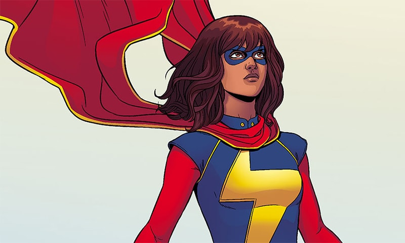 Teenager Kamala Khan, Marvel's debut Muslim superhero character. Source: Marvel.com