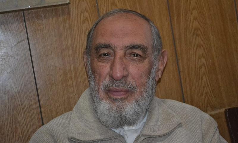 Dr Kaleemullah Khan, PkMAP candidate for Quetta mayor. — Photo: Syed Ali Shah