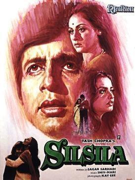 Poster for Silsila. - Photo courtesy: gopixpic.com