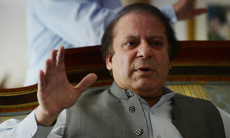 Prime Minister Nawaz Sharif -AFP/File