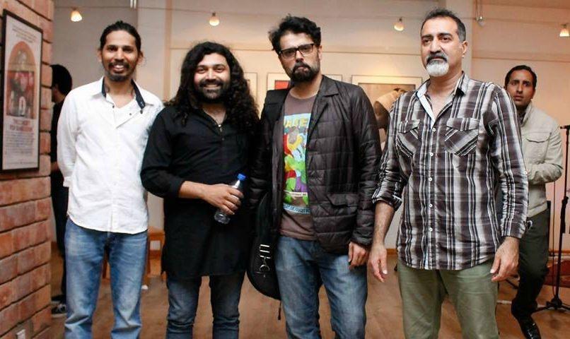 Gumby, Ahsan Bari, Omran Shafique and Sameer Ahmed. - Photo courtesy: Raahi