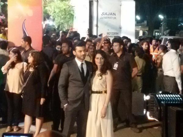 Fawad Khan with his wife Sadaf.— Photo Courtesy: Twitter
