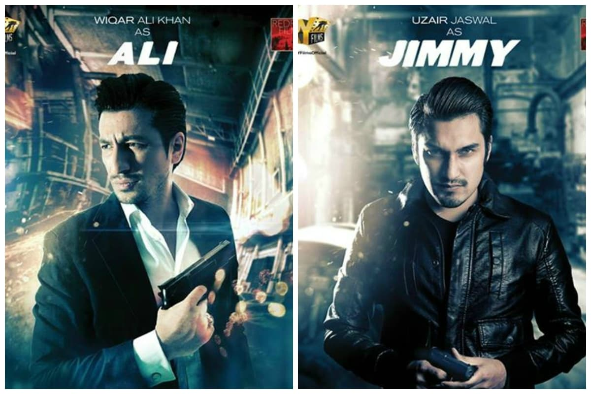 Wiqar Ali Khan as Ali and Uzair Jaswal as Jimmy.— Photo Courtesy: Jalaibee's Official Facebook Page