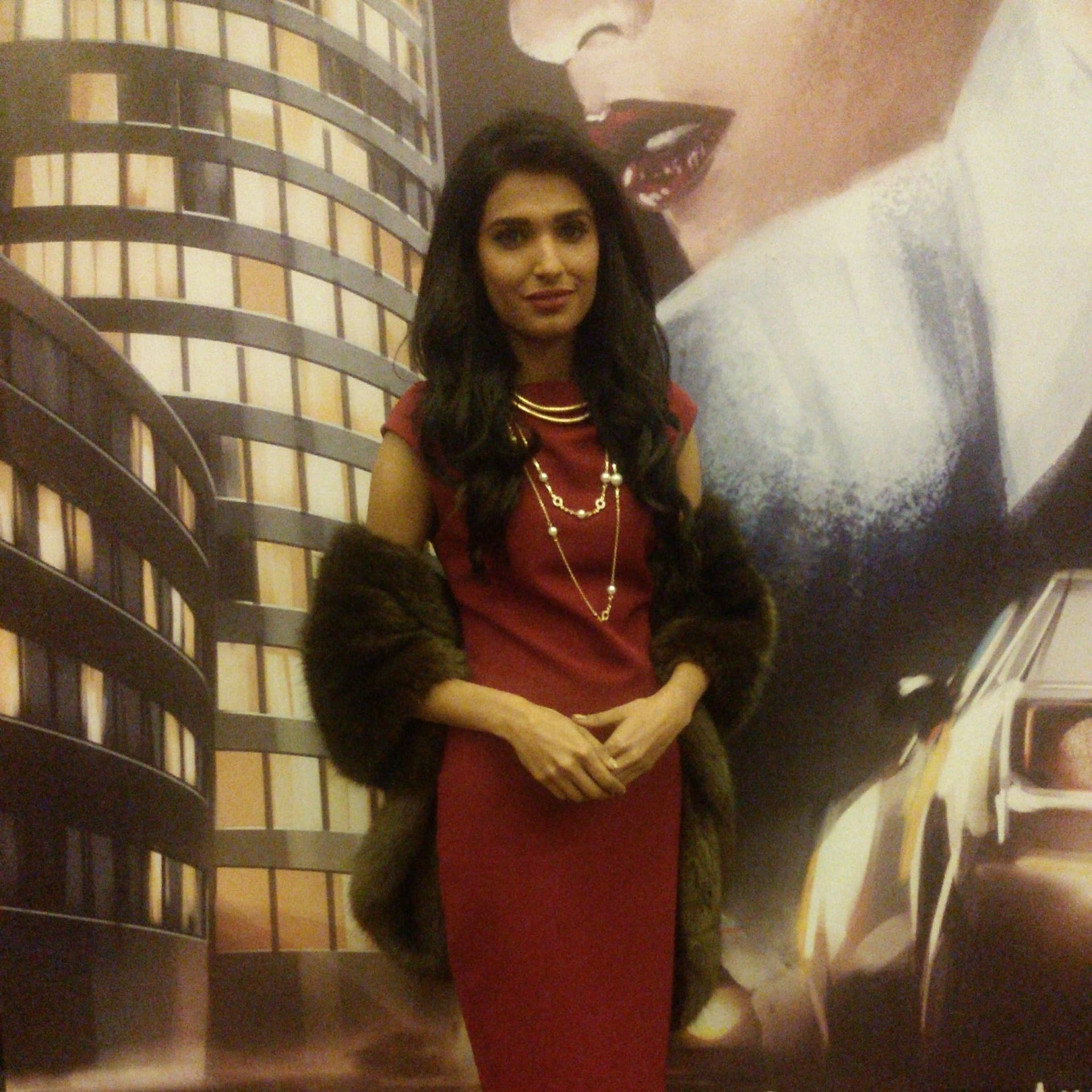 Amna Illyas at the event.— Publicity photo