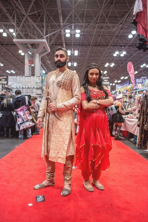 Cosplay at the New York Comic Con 2014. - Photo courtesy: www.thelastansaars.com