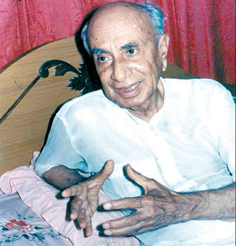 Famous Sindhi scholar and nationalist, GM Syed