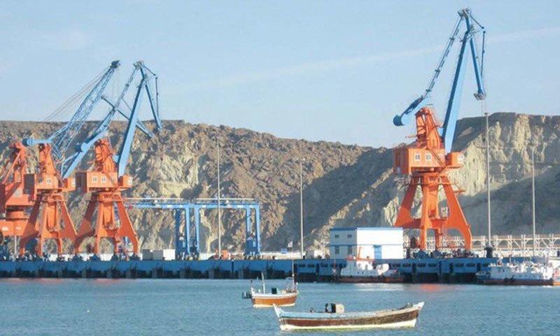 The senate committe has been told by the govt that Gwadar port is expected to become operational by May this year. -File Photo