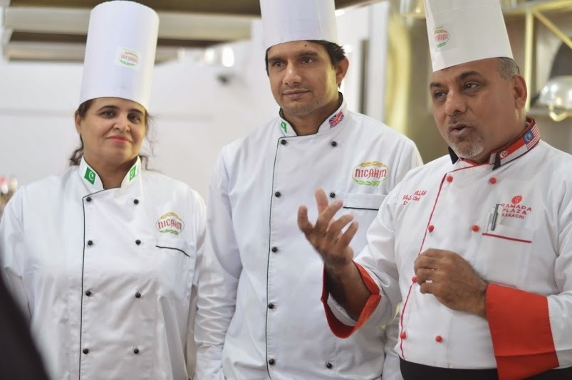 The faculty at the institute comprises of people immensely passionate about food.