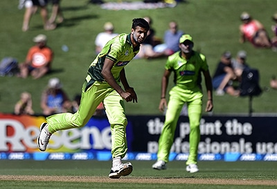 Rahat Ali, Sohail Khan, and Ehsan Adil have a collective experience of 10 ODIs. — AFP