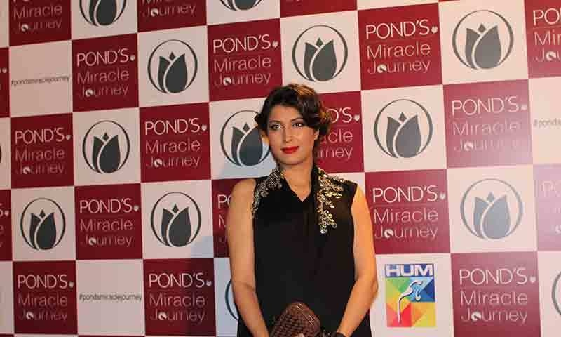 Vaneeza Ahmad at POND'S Miracle Journey.— Photo by Yumna Rafi