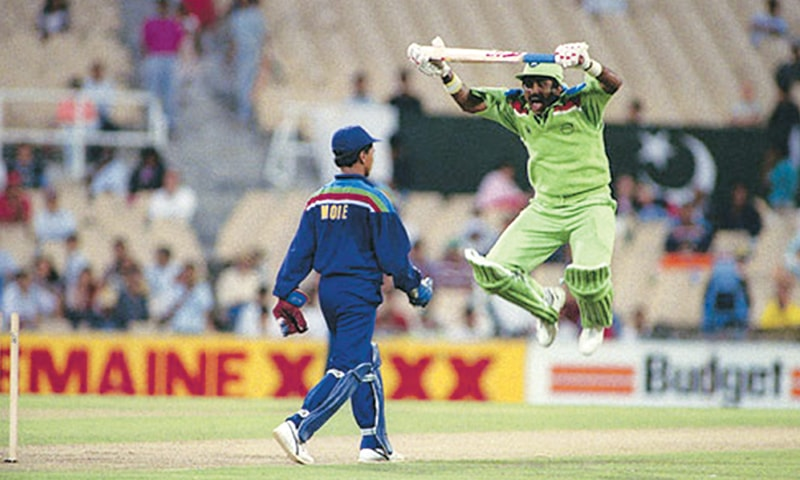 A hilarious Miandad moment from the '92 Cup