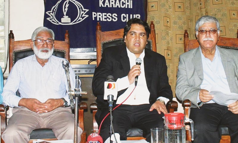 Advocate Faisal Siddiqi.—Online